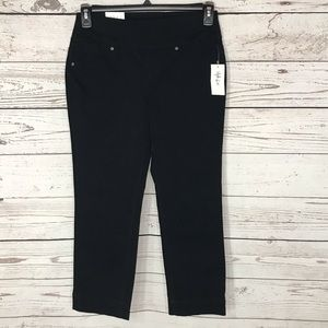 Style & Co Capris Mid-Rise Flat Front Stretch